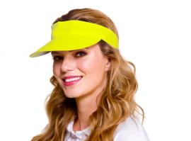 Golf cap neon geel