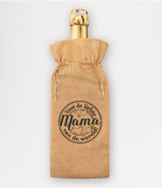 Bottle gift bag - Mama