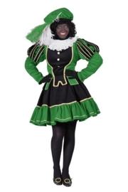 Pieten jurk Murcia zwart groen