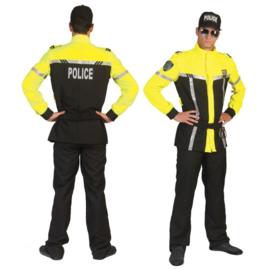 Politie kostuum luxe