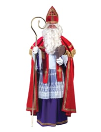 Sinterklaas fluweel compleet