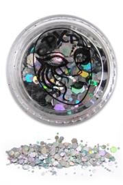 Glitters Sparkling silver grove