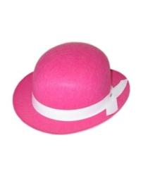 Bolhoed midi pink