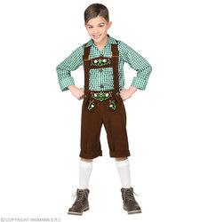 Beierse jongens kostuum