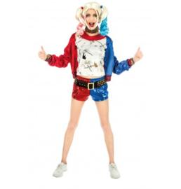 Harley quin kostuum