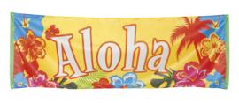 Gevel banner Aloha