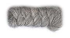 Wolcrepe lichtgrijs 10cm