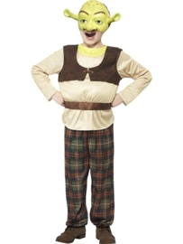 Shrek kostuum kinderen