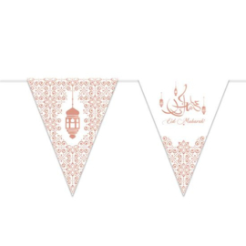 Vlaggenlijn 'Eid Mubarak' (6m) | Ramadan