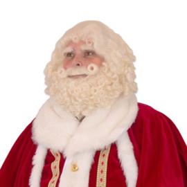 Kerstman baardset buffelhaar deluxe