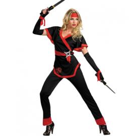 Ms bill ninja kostuum