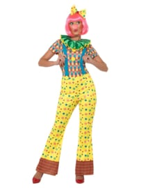 Giggles the clown vrouwen kostuum