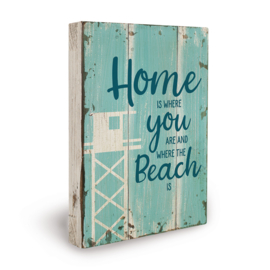 Houten beach bord always love you