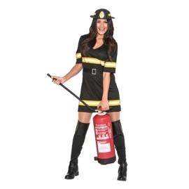 Brandweer jurkje zwart