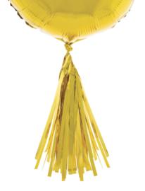 Ballon pompoms 5 stuks goud