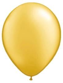 5 inch ballonnen goud
