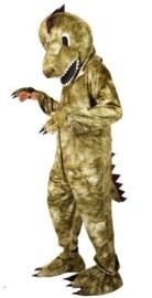 Dino kostuum mascotte pro