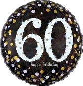 Folieballon birthday sparkling 60 (45cm)