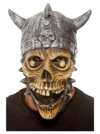Latex viking skeleton masker