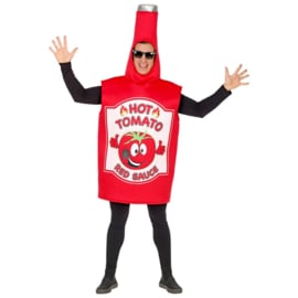 Ketchupfles kostuum