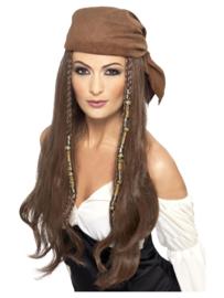 Pirate pruik lady
