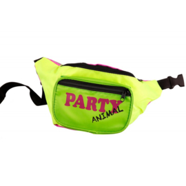 Heuptas Party Animal | neon-groen/neon-geel/neon-pink
