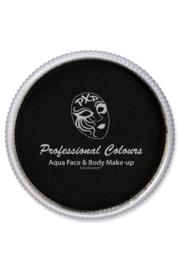 PXP waterschmink zwart 30gr
