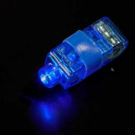 LED ring blauw 10 stuks