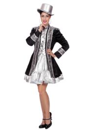 Uniform jasje zilver zwart
