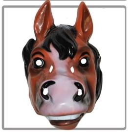 Masker plastic paard