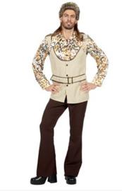 70's suit Corduroy