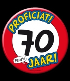 Button XL 70 jaar70s
