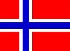 Vlag Noorwegen 90x150
