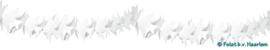 Slinger Duifjes Wit 6m (Brandveilig)