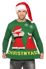 kerst trui christ my ass