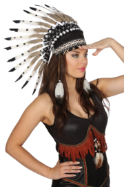 Luxe indianen tooi grey squaw