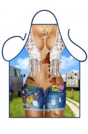 Schort hippy girl