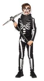 Fortnite skull soldier kostuum