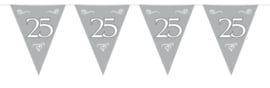 Vlaggenlijn 25 Zilver