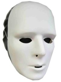 Grimeermasker wit