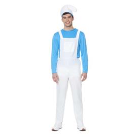 Smurfen kostuum   smurf jumpsuit