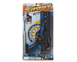 Blauw zwart politie wapen Swat | 31cm