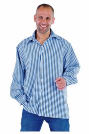Shirt Brabants bont blauw