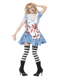 Alice in Wonderland zombie jurkje