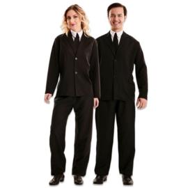 Zwart kostuum
