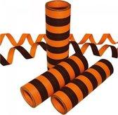 Serpetine 20x 4m brandwerend zwart oranje