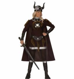 Viking dames kostuum luxe
