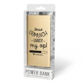 Powerbank glimlach