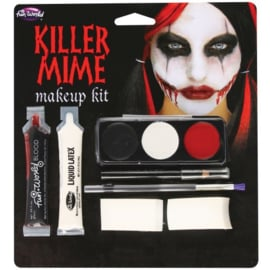 Killer Mime make up set