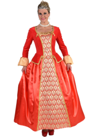 Markiezin jurk Luxe | Elegante hofdame
